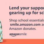 AmazonSmile back to school