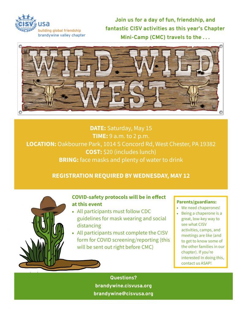 Wild wild west mini camp